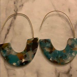 Women's acrylic earrings